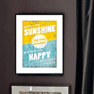 PDH01033  You Are My Sunshine(40x50)