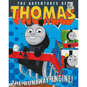 MP1668 THOMAS AND FRIENDS Runaway Train (40x50cm)