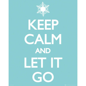 MP1780 KEEP CALM Let it Go (40x50cm)