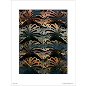 PDH01354 Leaves Paint (40x50)