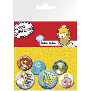 BP0442 The Simpsons 뱃지(6p)