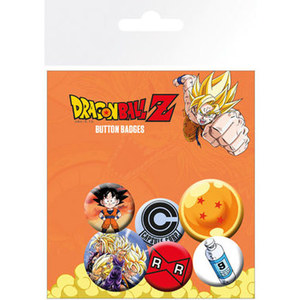 BP0649 Dragon Ball Z 뱃지(6p)